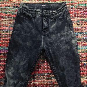 BDG Acid Wash High-waisted Jeans